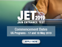 JC JET 2019 UG program