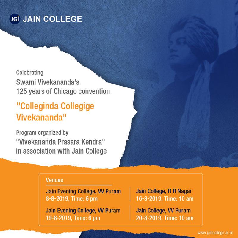 Colleginda Collegige Vivekananda 2019