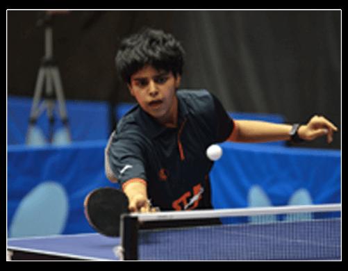 Archana Kamath An International Table Tennis Player